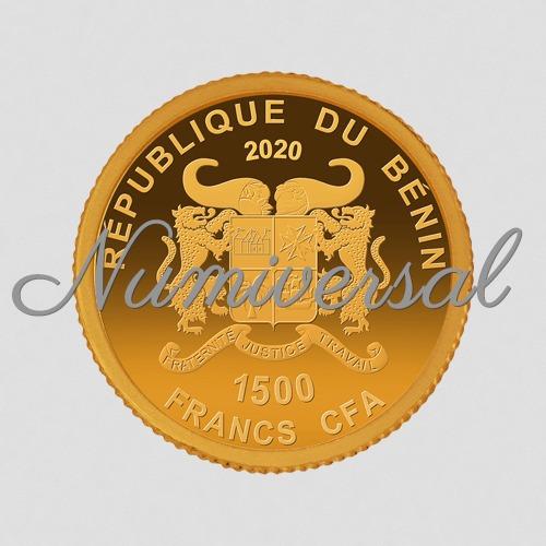 Benin-11mm-Gold 2020