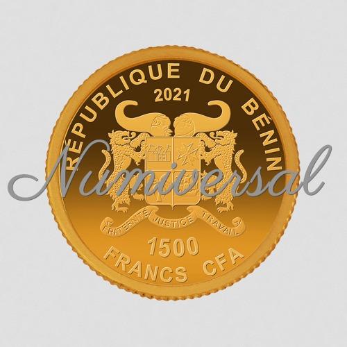 Benin-11mm-Gold 2021