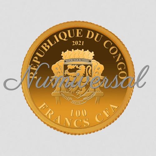 Congo-11mm-Gold 2021