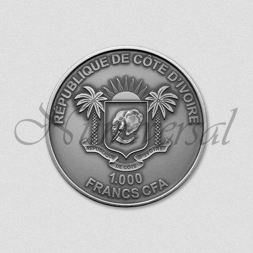 Elfenbein-1000-Silber-Rund-Wappenseite-Numiversal