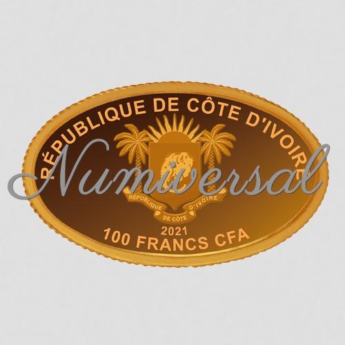Elfenbeinküste 100 Francs 2021