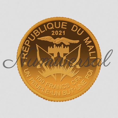 Mali Gold 2021 100 FRA CFA