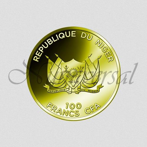 Niger-100-Gold-Rund-Wappenseite-Numiversal