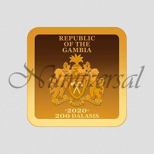 Wappenseite - 2020 - Gold - Quadrat