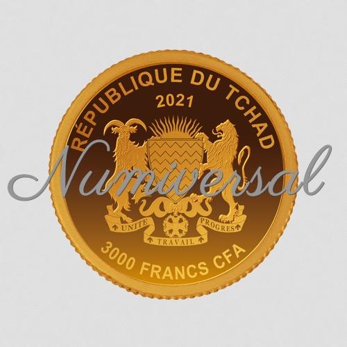 Tschad 2021 3000 FRA