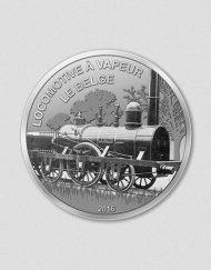 364-Eisenbahn-Le-Belge-2016-Rund-Silber-Numiversal