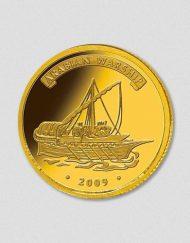 390-Arabian-Warship-2009-Gold-Numiversal