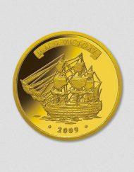 406-HMSVictory-2009-Gold-Numiversal