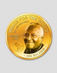 440-peace-for-the-world-desmond-tutu-2016-oval-rund-gold-numiversal