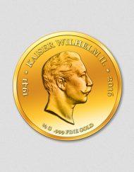75. Todestag Kaiser Wilhelm - Numiversal 2016