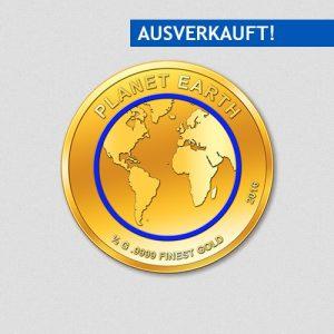 453-Planet-Erde-2016-Rund-Gold-Numiversal
