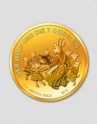 Deutsche Märchen - Der Wolf und die 7 Geißlein