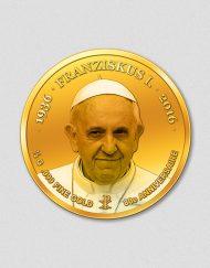 80. Geburtstag - Papst Franziskus - Numiversal - 2016