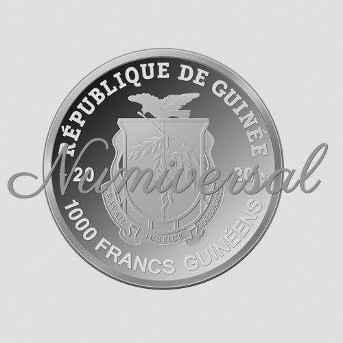 Guinea silber 1000
