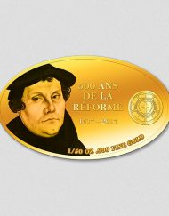Martin Luther - 500 Jahre Reformation - Goldmünze 2017 - Numiversal