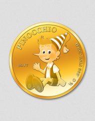 Pinocchio 2017 - Goldmünze - Numiversal