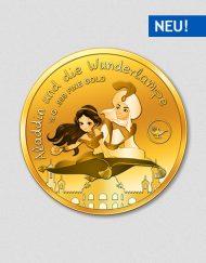 Aladdin und die Wunderlampe - Goldmünze - Numiversal - 2017