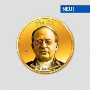 Papst Pius XI - Papstprogramm - Numiversal - 2017