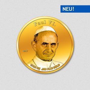 Papst Paul VI - Papstprogramm - Numiversal - 2017