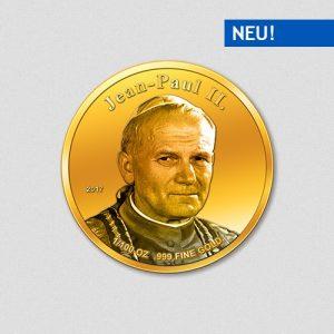Papst Johannes Paul II - Papstprogramm - Numiversal - 2017