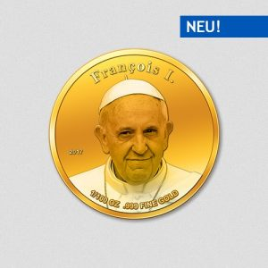Papst Franziskus I - Papstprogramm - Numiversal - 2017