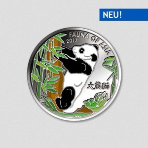 Panda of the Year 2017 - Numiversal - Silbermünze