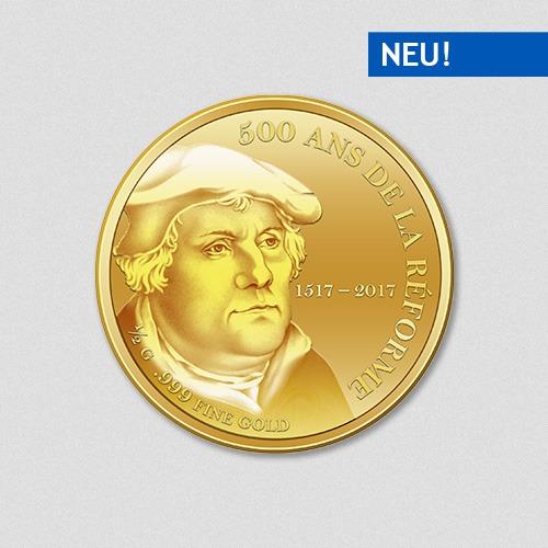Martin Luther - 500 Jahre Reformation - Goldmünze 2017 - Numiversal