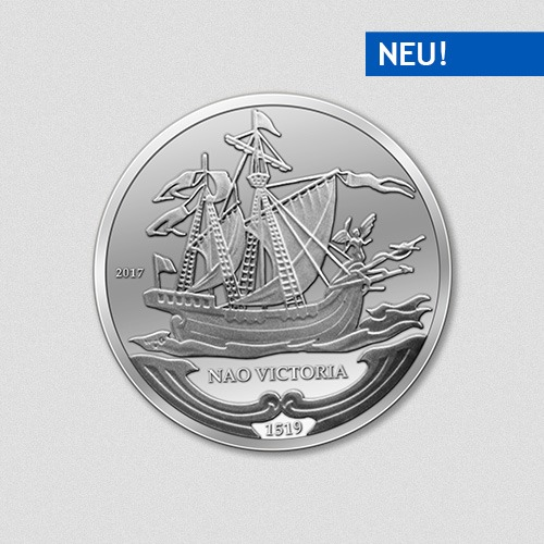 Nao Victoria- Schiffe - Silbermünze - 2017 - Numiversal