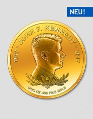 John F. Kennedy - Goldmünze - 2017 - Numiversal
