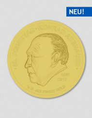 50. Todestag - Konrad Adenauer - Goldmünze - 2017