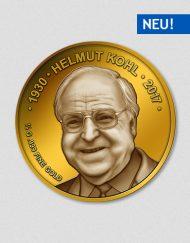Helmut Kohl - Sterbemünze - Goldmünze - 2017 - Numiversal
