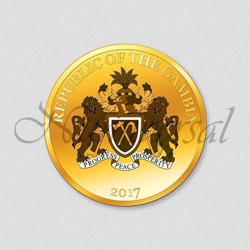Wappenseite Gambia 2017