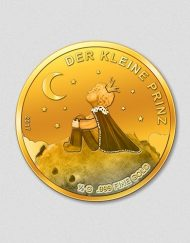 Der kleine Prinz - Goldmünze -Numiversal - 2017