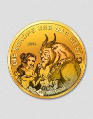 Die Schöne und das Biest - Goldmünze - 2017 - Numiversal