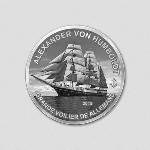 Windjammer - Alexander von Humboldt - 2018 - Silbermünze - Numiversal