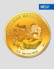 Die kleine Meerjungfrau - Goldmünze - 2017 - Numiversal