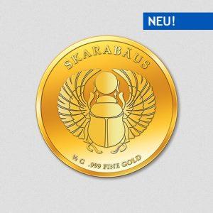 Skarabäus - Goldmünze - Numiversal