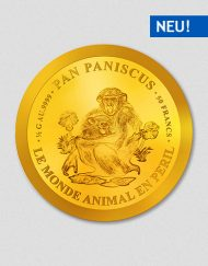 Pan Paniscus - Bonobo - Kleine Goldmünze - Numiversal