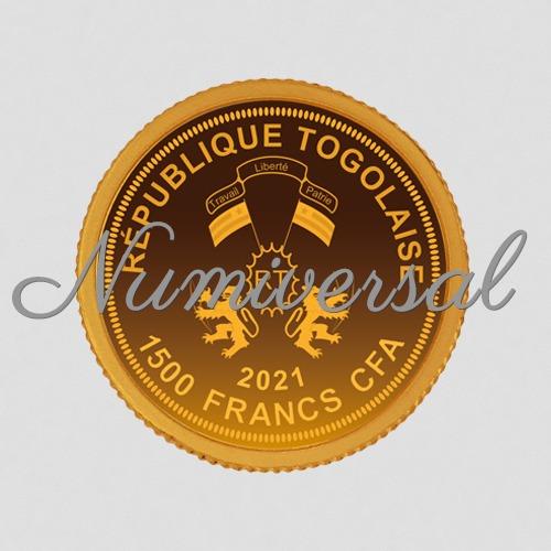Togo 2021 1500 Francs