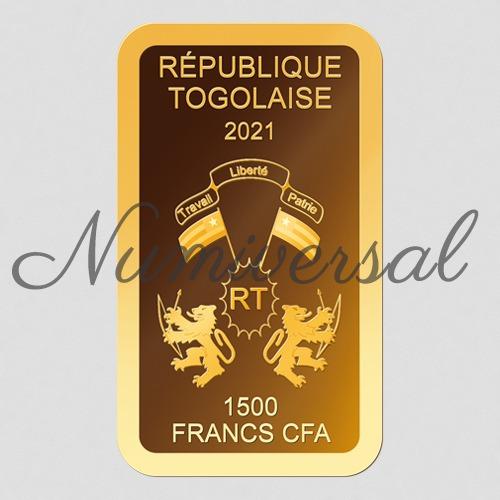 Togo Barren 2021 1500 Francs