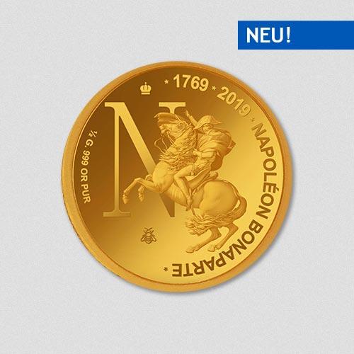 Napoleon Bonaparte - Goldmünze - 2019 - Numiversal