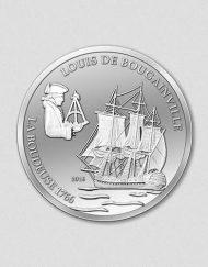 La Boudeuse Silbermünze 2016 Numiversal