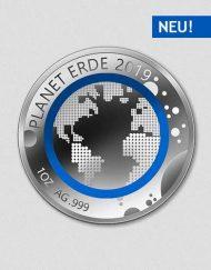 Unsere Planeten - Erde - 2019 - Silber - Numiversal