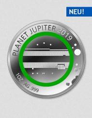 Unsere Planeten - Jupiter - 2019 - Silber - Numiversal