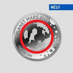 Unsere Planeten - Mars - 2019 - Silber - Numiversal