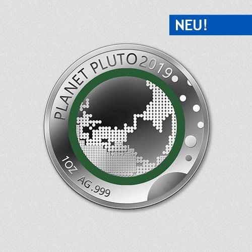 Unsere Planeten - Pluto - 2019 - Silber - Numiversal