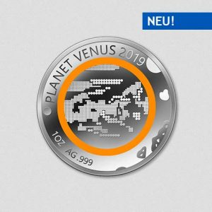 Unsere Planeten - Venus - 2019 - Silber - Numiversal