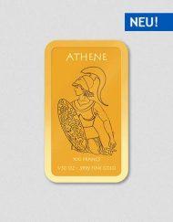 Griechische Götter - Athene - Goldbarren - Numiversal