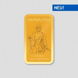 Griechische Götter - Hephaistos - Goldbarren - Numiversal
