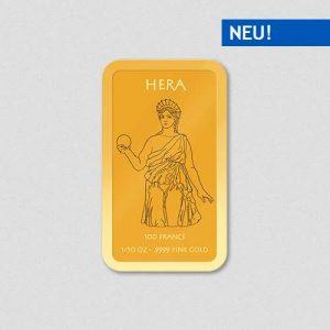 Griechische Götter - Hera - Goldbarren - Numiversal